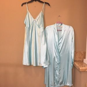 ADONNA WOMAN 2 pc lingerie set blue